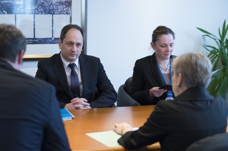 The Minister of temporarily occupied territories and internally displaced persons Ukraine, Vadym Chernysh visits NATO and meets with NATO Deputy Secretary General Rose Gottemoeller